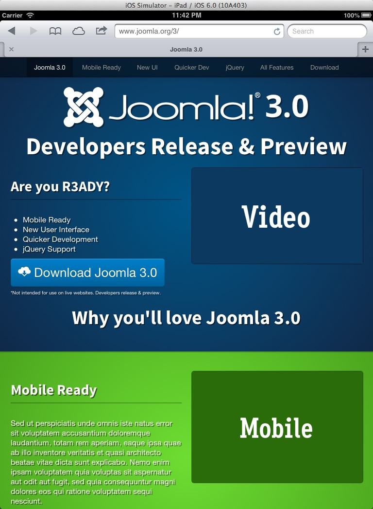 joomla3.0-ipad-Layout