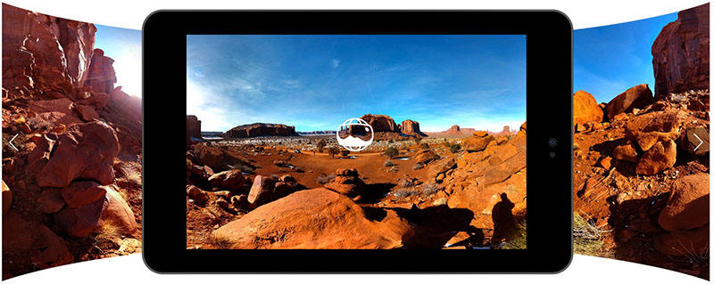 ลอง Google Photo Sphere Viewer